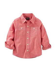 OshKosh B'gosh® Red Chambray Woven Shirt - Boys 4-7