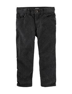 OshKosh B'gosh® Grey Twill Pants - Toddler Boys
