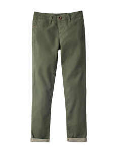 Squeeze Olive Stretch Jeans - Girls 7-16