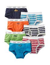Carter's® 7-pk. Solid & Stripe Briefs - Toddler & Boys 4-7