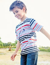 U.S. Polo Assn. Multicolor Striped T-shirt - Boys 8-20