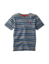 U.S. Polo Assn. Striped T-shirt - Boys 8-20