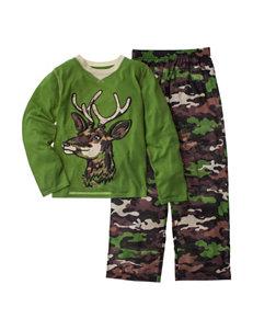 Komar 2-pc. Deer Print Pajama Set - Boys 4-7