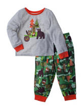 Komar 2-pc. Wildlife Pajama Set - Toddler Boys