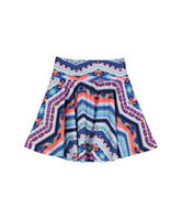 A. Byer Multicolor Knit Skater Skirt – Girls 7-16