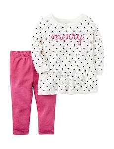 Carter's® Merry Polka Dot Sweater & Legging Set - Baby 3-12 Mos.