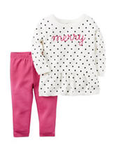 Carter's® Merry Polka Dot Sweater & Legging Set - Baby 3-12 Mos.