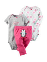 Carter's® 3-pc. Holiday Penguin Bodysuit & Pants Set - Baby 0-12 Mos.