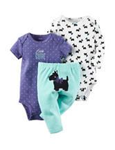 Carter's® 3-pc. Scotty Dog Turn Me Set – Baby 0-12 Mos.