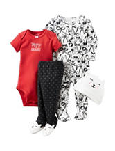 Carters® 4-pc. Merry Bows Layette Set – Baby 3-9 Mos.