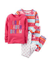 Carters® 4-pc. Love Dream Pajamas - Baby 12-24 Mos.
