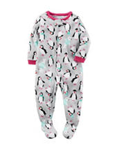 Carter's® Penguin Fleece Sleep & Play - Baby 12-24 Mos.
