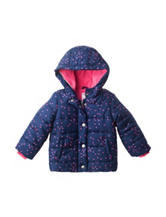 Carters® Heart Print Puffy Jacket – Baby 12-24 Mos.