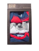 Converse 3-pk. Chuck Bodysuits - Baby 0-12 Mos.