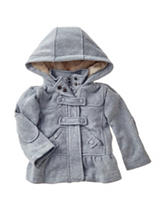 Urban Republic Grey Fleece Jacket – Baby 12-24 Mos.