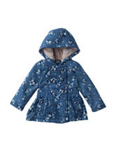 Urban Republic Floral Print Triple Tier Jacket – Baby 12-24 Mos.
