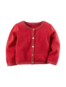 Carter's® Red Cardigan Sweater - Baby 3-18 Mos.