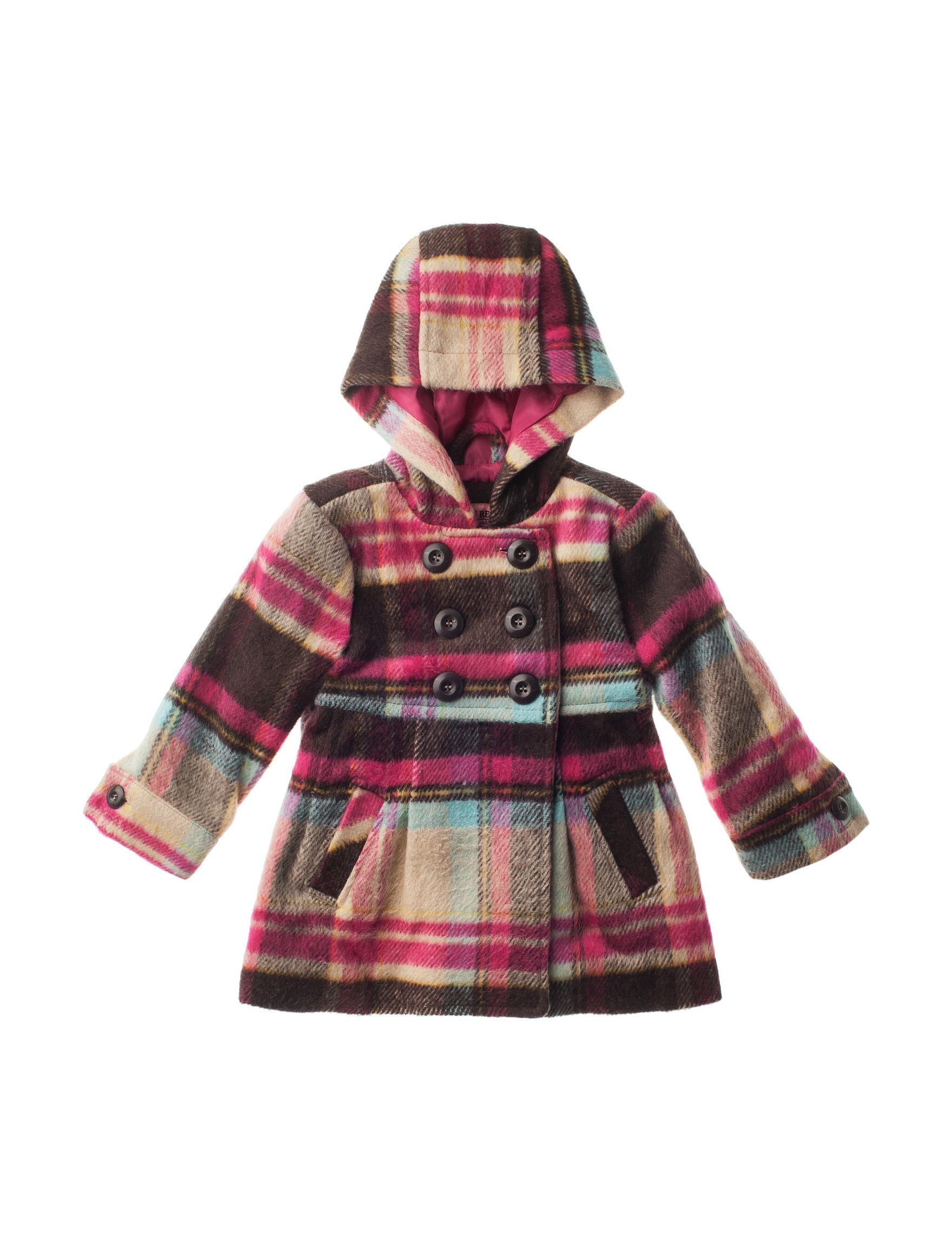 Urban Republic Brown / Pink Lightweight Jackets & Blazers