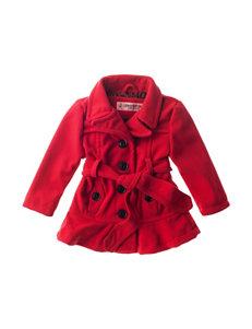Urban Republic Red Tie Wool Jacket - Baby 12-24 Mos.