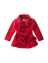 Urban Republic Red Tie Wool Jacket - Baby 12-24 Mos.