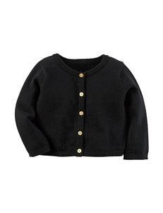 Carter's® Black Cardigan Sweater - Baby 3-12 Mos.