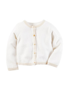 Carter's® Ivory Cardigan Sweater - Baby 3-12 Mos.