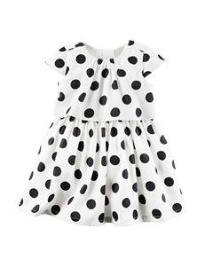 Carters® Black Dot Print Dress - Baby 3-18 Mos.
