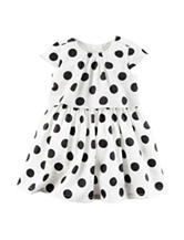 Carters® Black Dot Print Dress - Baby 3-18 Mos.