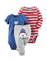 Carters® 3-pc. Polar Bear Turn Me Set – Baby 0-18 Mos.