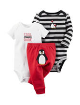 Carters® 3-pc. Penguin Turn Me Set – Baby 0-12 Mos.
