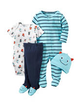 Carters® 4-pc. Monster Layette Set – Baby 0-9 Mos.