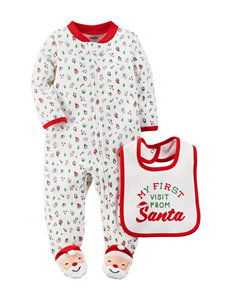 Carter's® 1st Santa Visit Sleep & Play - Baby 0-9 Mos.