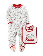 Carter's® 1st Santa Visit Sleep & Play - Baby 0-9 Mos.