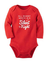 Carters® Silent Night Bodysuit - Baby 0-9 Mos.