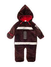 QT Baby Football Shape Body Bag Onesie - Baby 3-9 Mos.