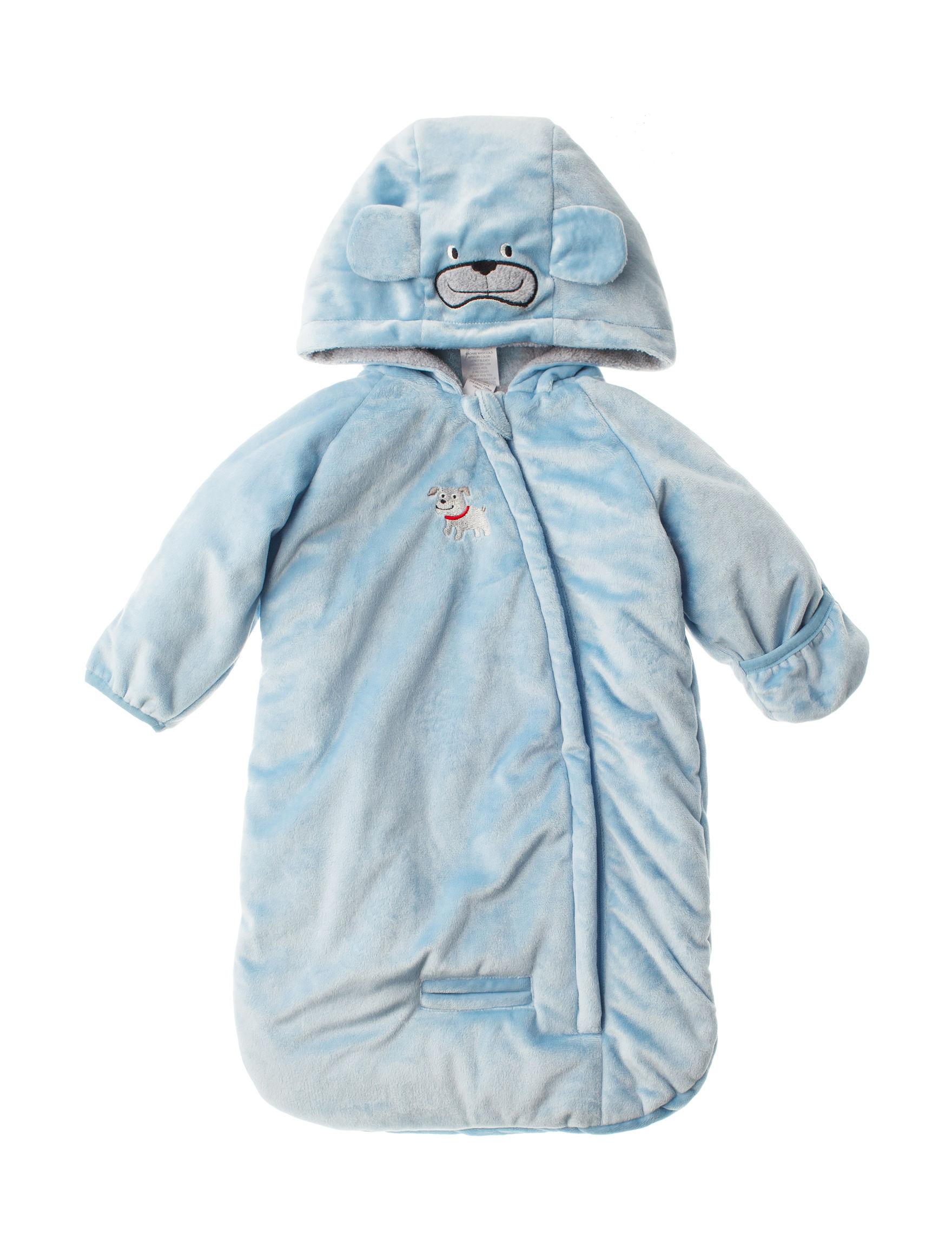 QT Baby Blue Lightweight Jackets & Blazers