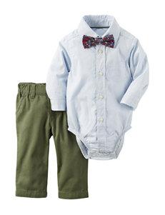 Carter's® 2-pc. Striped Print Bodysuit & Pants Set - Baby 3-12 Mos.