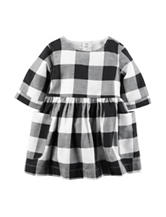 Carter's® Buffalo Check Dress - Baby 3-12 Mos.