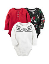 Carters® 3-pk. Bodysuits - Baby 3-18 Mos.