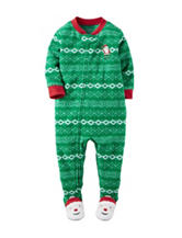 Carter's® Santa Fleece Sleep & Play - Baby 12-24 Mos.