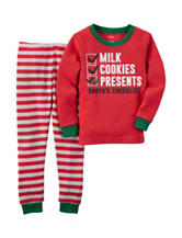 Carter's® 2-pc. Santa's Checklist Pajama Set – Baby 12-24 Mos.