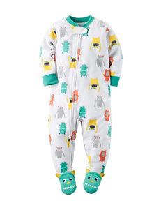 Carter's® Monster Microfleece Sleep & Play - Baby 12-24 Mos.