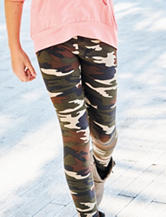 1st Kiss Camo Print Leggings - Girls 7-16