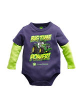 John Deere Big Time Power Bodysuit - Baby 3-12 Mos.