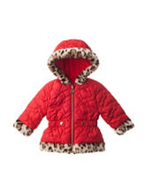 Pistachio Red Quilted Jacket - Baby 12-24 Mos.