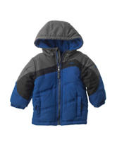 Pacific Tail Color Block Puffer Jacket - Baby 12-24 Mos.