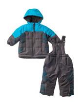 Pacific Tail 2-pc. Snowsuit & Jacket Set - Baby 12-24 Mos.