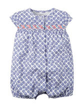 Carter's® Floral Print Creeper – Baby 0-9 Mos.
