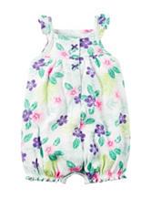 Carter'® Floral Print Creeper - Baby 0-9 Mos.