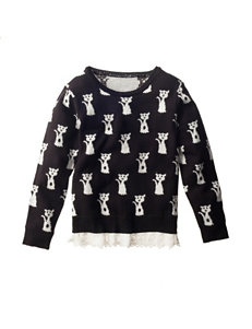 Self Esteem Cat Sweater - Toddlers & Girls 4-6x